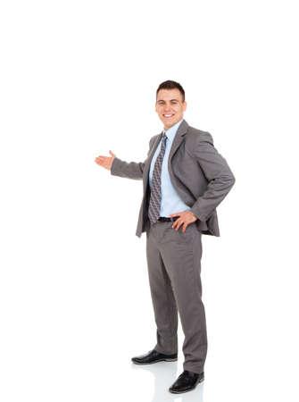 gestos: hombre de negocios