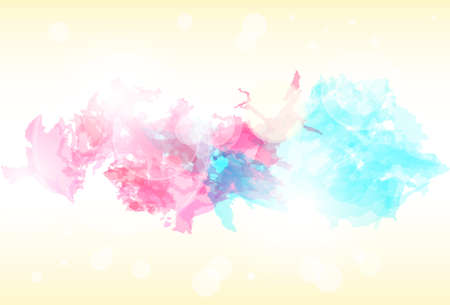 paint colorful splash abstract background. Vector Vector