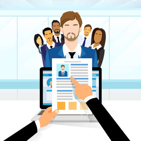 Curriculum Vitae Reclutamiento Posición Candidato Trabajo