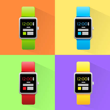 electronic device: Smart Watch Set New Technology Electronic Device