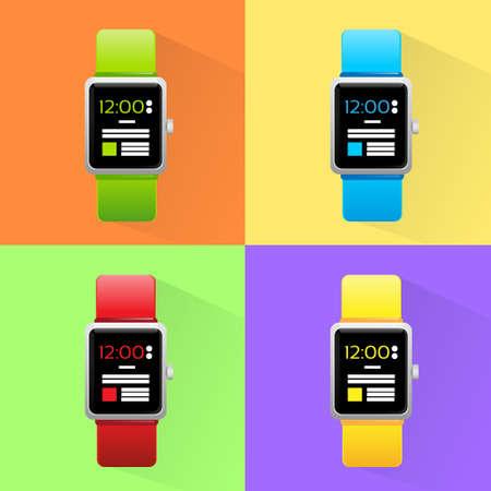 electronic device: Smart Watch Set New Technology Electronic Device