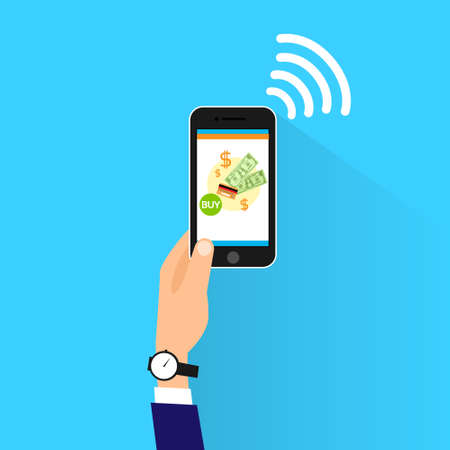 e wallet: mobile payment with cell smart phone nfc technology