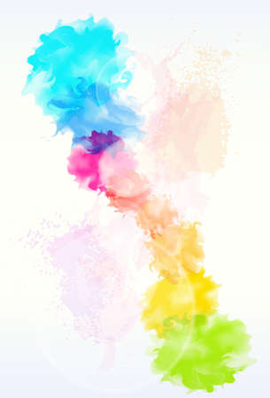 colours: paint colorful splash abstract background
