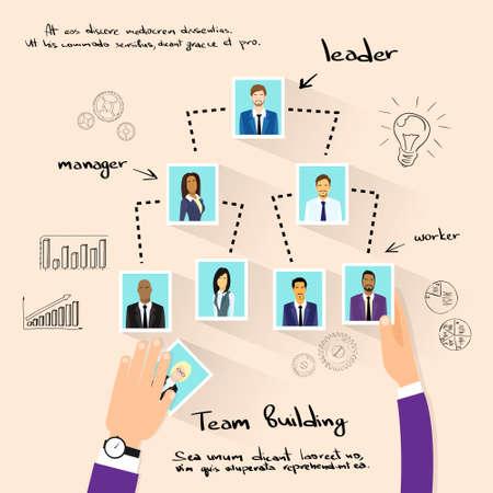 business person: Team Building Concept Hands Photos Business Person Illustration