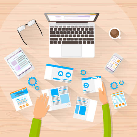 concepteur web: Web Designer Work Space Development Create Design Site