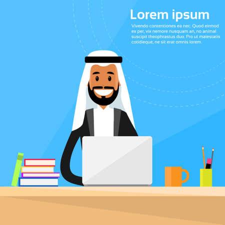 hombre arabe: El hombre de negocios �rabe de Trabajo