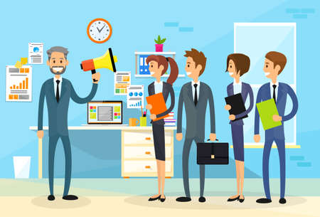 hombres ejecutivos: Empresario Holding Altavoz