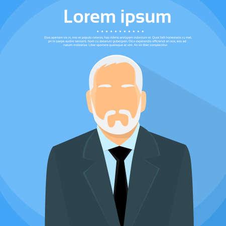 Hogere Zakenman Boss Stock Illustratie