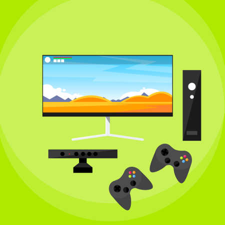 Video Game Console Pad and controller