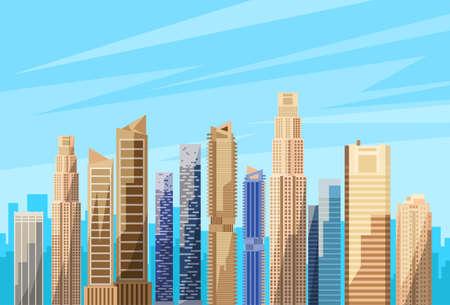 scape: City Skyscraper View