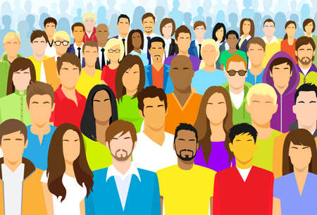 Skupina neformální lidí