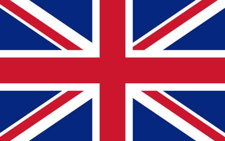 bandera de gran bretaña: Bandera de Gran Bretaña Reino Unido Inglés ilustración vectorial Vectores