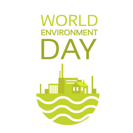 green environment: Silhouette Green Plant World Environment Day