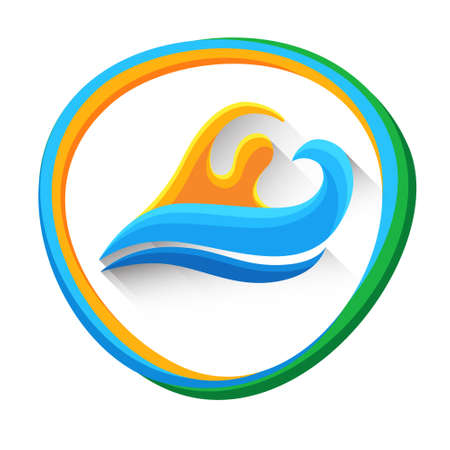 Swimming Sport Game  Competition Athlete Icon Vector Illustration