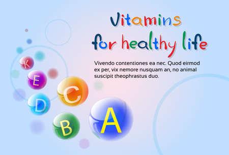 minerals: Essential Chemical Elements Nutrient Minerals Vitamins Flat Vector Illustration