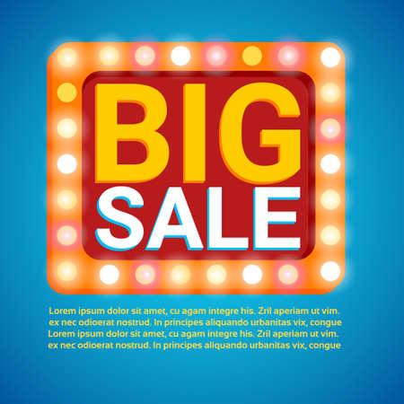 holiday shopping: Black Friday Big Sale Holiday Shopping Banner Copy Space Vector Illustration Illustration