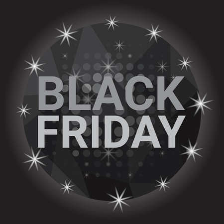 holiday shopping: Black Friday Sale Holiday Shopping Banner Copy Space Vector Illustration Illustration