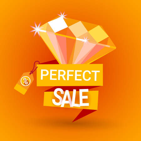 tear off: Premium Quality Special Offer Discount Big Sale Shopping Banner Flat Vector Illustration
