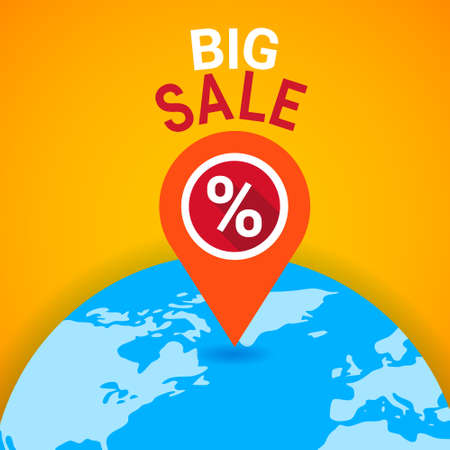 Black Friday Sale Holiday Shopping Banner Vector Illustration