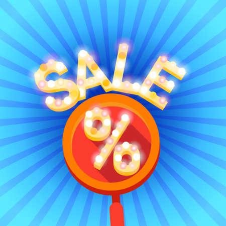 holiday shopping: Black Friday Sale Holiday Shopping Banner Vector Illustration