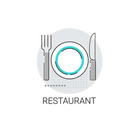 restaurant table: Restaurant Table Dish Food Delivery Icon Vector Illustration Illustration