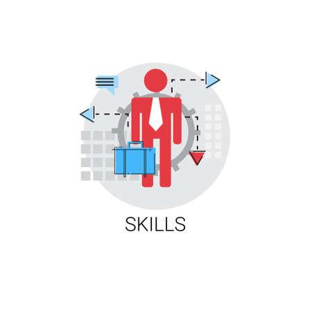 Business Skills Creative Idea Icon Vector Illustration
