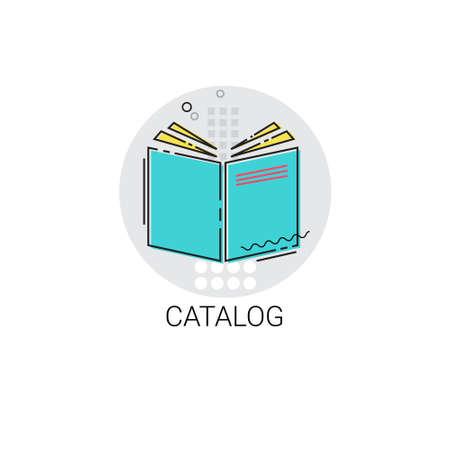 workbook: Catalog Workbook Notebook List Icon Illustration