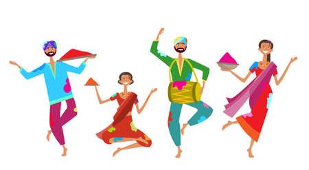 Happy Holi Religious India Holiday Traditional Celebration Greeting Cart