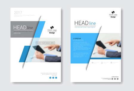 catalog: Template Design Brochure Set, Annual Report, Magazine, Poster, Corporate Presentation, Portfolio, Flyer Collection With Copy Space Vector Illustration Illustration