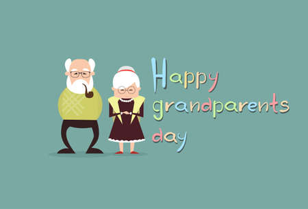 Happy grandparents day greeting card banner vector illustration happy grandparents day greeting card banner vector illustration stock vector 85169267 m4hsunfo