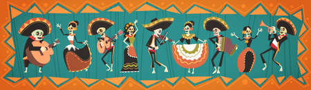 Day Of Dead banner.