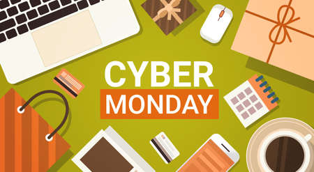 Cyber monday big sale banner.