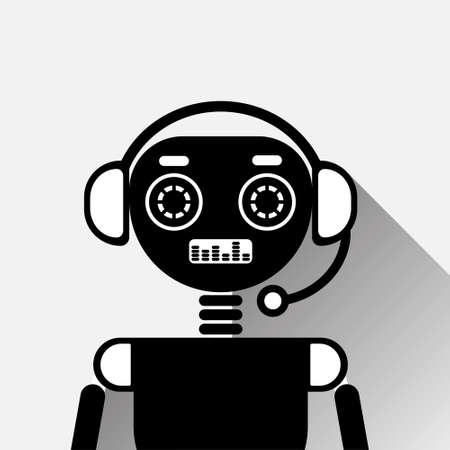 Chatbot Icon Concept Illustration