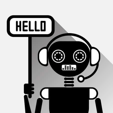 Chatbot Says Hello Icon