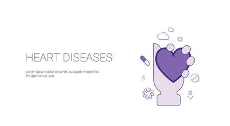Heart Diseases Web Banner design