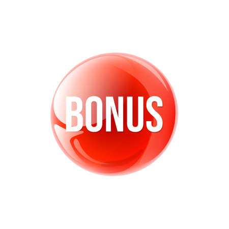 bonus circular icon isolated sticker badge design elements vector illustration