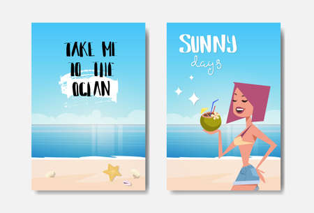 set summer ocean badge Isolated Typographic Design Label. Season Holidays lettering  o s and posters. vector illustration
