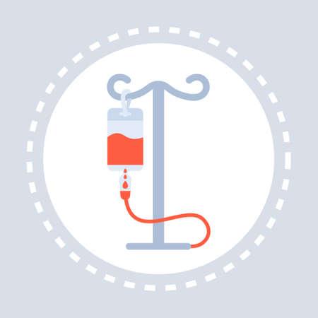 dropper icon healthcare medical service logo medicine and health symbol concept flat vector illustration Illustration