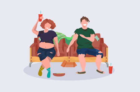 drunk woman woman beggars couple sitting armchairs female male tramps drinking alcohol having fun together homeless jobless concept cartoon characters flat full length vector illustration
