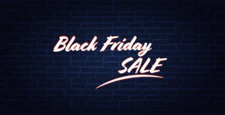 big sale flyer black friday special offer promo marketing holiday shopping concept advertising campaign horizontal banner vector illustration Stock Illustratie