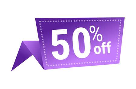 50 percent off price special offer sticker coronavirus quarantine is over advertising campaign concept