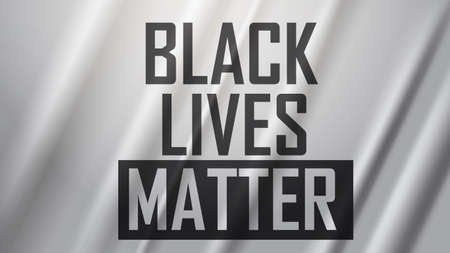 awareness campaign against racial discrimination i cant breathe poster banner black lives matter