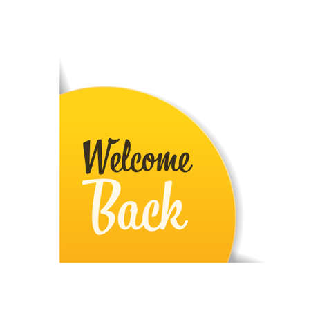 welcome back sticker quarantine is over advertising campaign concept