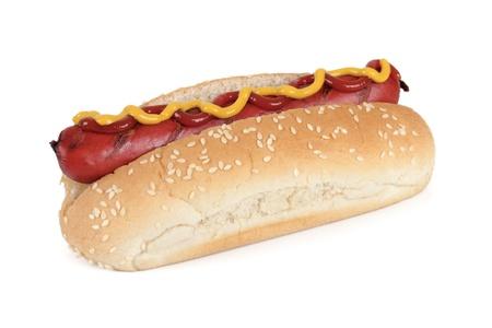 hotdog: hot dog Foto de archivo