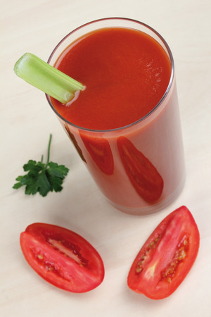 diuretic: juice Stock Photo
