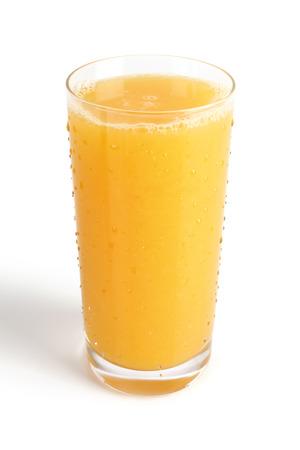 verre de jus d orange: jus Banque d'images