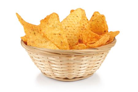 tortilla de maiz: nachos