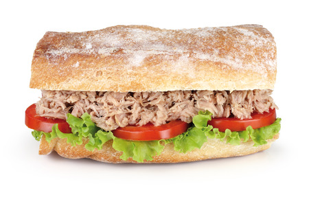 broodje tonijn Stockfoto