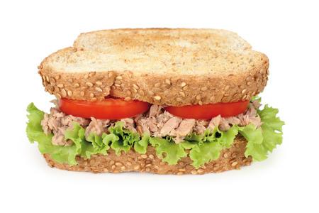 tuna sandwich Banco de Imagens