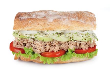 atun: sándwich de atún